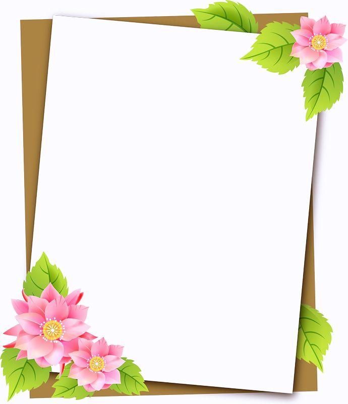 Шаблон оформление открытки