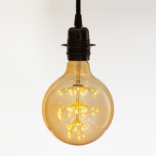 X Large star GLOBE LED Light bulb