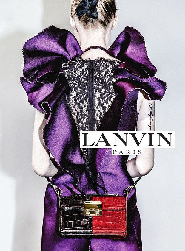 2016 #week 06 #FacticeLoves  #JulieNobis for the new #Lanvin  Ss16 #Campaign.