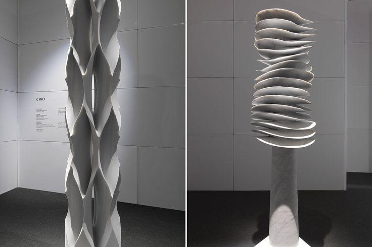 """Design & Technology - #Marmomacc 2014 - Progetto """"Spira"""" - Design Raffaello Galiotto - in collaboration with GMM Gravellona Macchine #Marmo"""