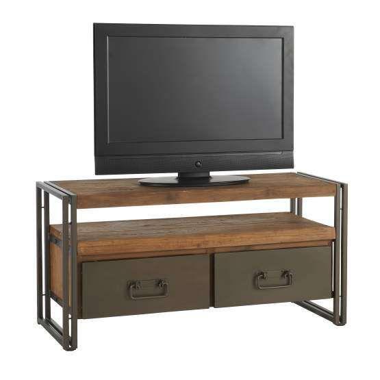 Tv-meubel Dinky, 2 laden 55x112x40 cm