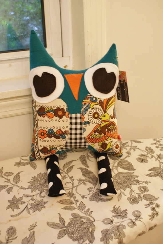 Custom Hoot Owl size Large made to order OOAK by DunlapLove