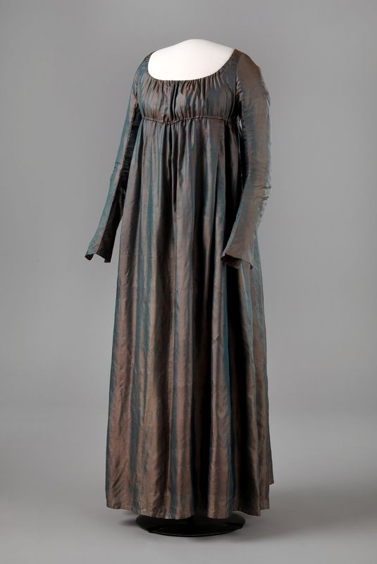 1815, Norway - Wedding dress - Silk lined with linen