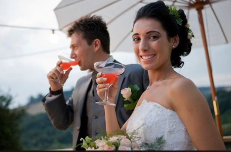 Enjoy some fresh, tropical and delicious cocktails while you chat with your guest on the Big Day! We can help you with Bartenders for Hire, Full Bar Packages and even Flair Bartenders!