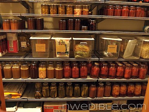 My Big Fat Hippie Pantry: A Full Larder For FallFull Larder, The Doors, Storage Spaces, Dreams Pantries, Organic Pantries, Food Storage, Canning Food Preserves, Big Fat, Hippie Pantries