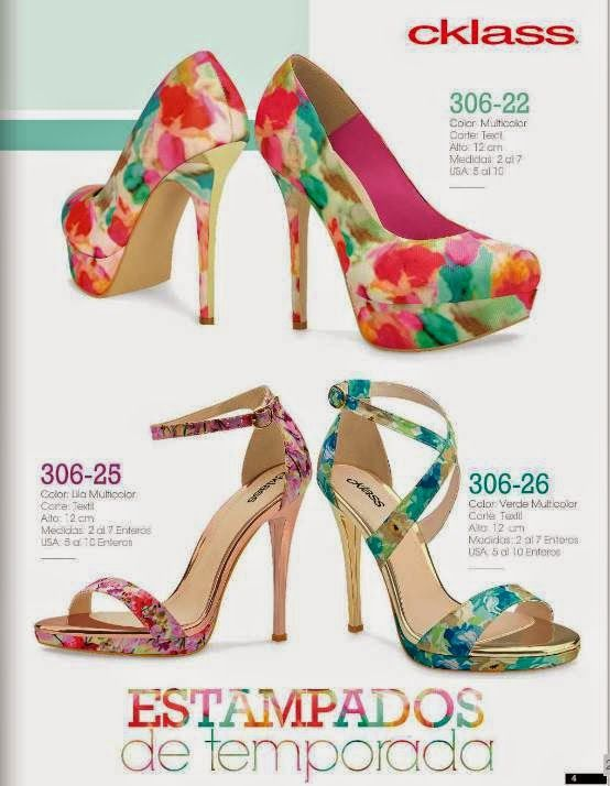Catalogo cklass calzado de mujer primavera verano 2015 for Catalogo bricoman 2015