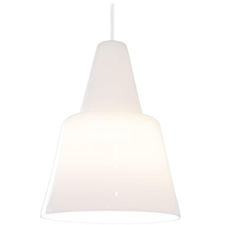 Scandinavian Pendant lamp in porcelain Vilho by Juho Pasila
