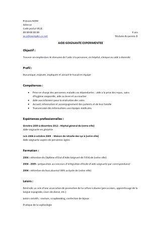 Exemple de CV technicien ceramiste