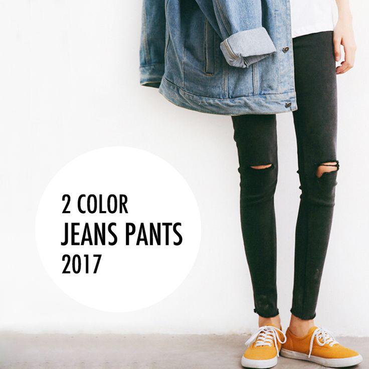 2色・ダメージデザイン・デニムレギンスパンツ・パギンス・裾フリンジ・美脚・スキニー・ブラック・ダークグレー・M/Lサイズ・大人可愛い・レディースカジュアル・デート・女子会・お出かけ・デイリー【170525】#JSファッション #カジュアル #大人可愛い #夏 #シンプル #ストレッチ #パンツ #ボトムス #パギンス #レギンスパンツ #デニム #スキニー #フリンジ #カットオフ #ダメージ #美脚 #大人フェミニン #爽やか #かわいい #大人コーデ #個性的 #デート #トレンド #流行り #お出かけ #デイリー #通勤 #通学 #シンプルコーデ #海外 #通販