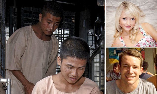 Hannah Witheridge's family go to Thailand for alleged attackers' trial