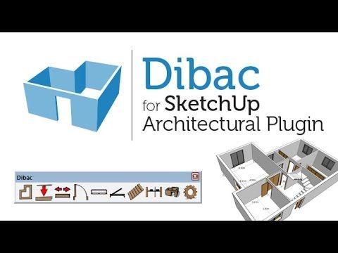 Dibac Sketchup - Como crear muros facilmente