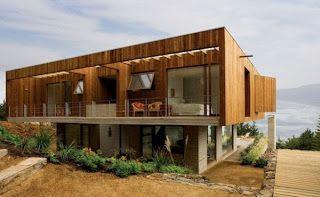 Model Rumah Kayu Minimalis Dua Lantai ~ Model Rumah Minimalis