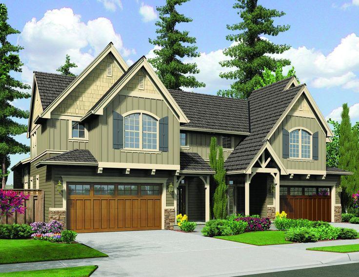 32 Best Duplex Plans Images On Pinterest Duplex House