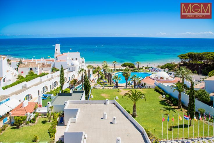 Oura View Beach Club in Albufeira an amazing hotel with beautiful grounds to admire and relax in. #relax #breathtaking #ocean #view #beachfront #location #ouraviewbeachclub #albufeira #algarve