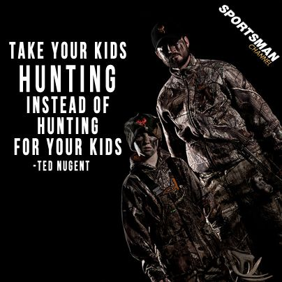 #Hunting #tradition #youth. If you're not spending time with them; someone else will...   www.bestbuddyfishing.com