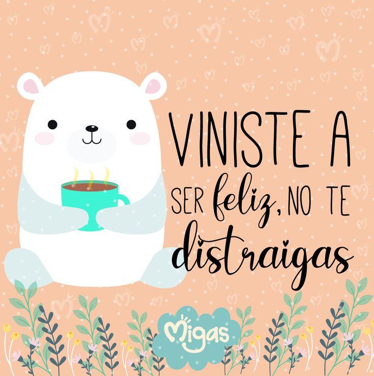 Viniste a ser feliz, no te distraigas… 🐼 . . . . . #dibujodeldia #bibujoslaceja #amor #frases #pensamientos #motivacion #mujeremprendedora #ilustradorescolombianos #laceja #regaloslaceja #migasdesign Positive Phrases, Positive Vibes, Inspirational Phrases, Motivational Quotes, Mr Wonderful, Life Decisions, Bee Art, Spanish Quotes, Good Vibes
