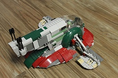 LEGO Star Wars Slave I (8097) - Read my review http://www.thebrickfan.com/lego-star-wars-slave-i-8097-review/