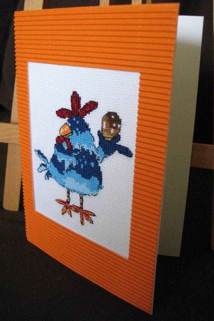 Wielkanoc Easter Oster Karta Z Kopertą Kurczak Rękodzieło Handmade CH3 | eBay