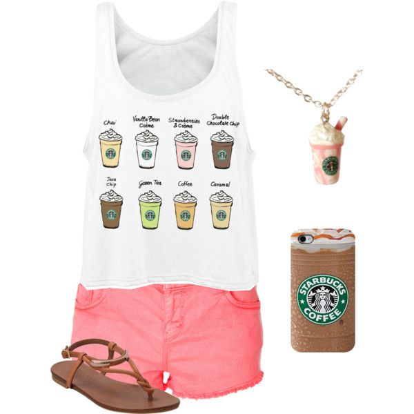 """Starbucks Outfit"""