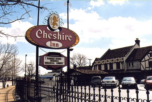 "Cheshire Inn - revamped and still here.  George Clooney's movie, ""Up in the Air"" was filmed here and at the airport!  Go, St. Louis!"