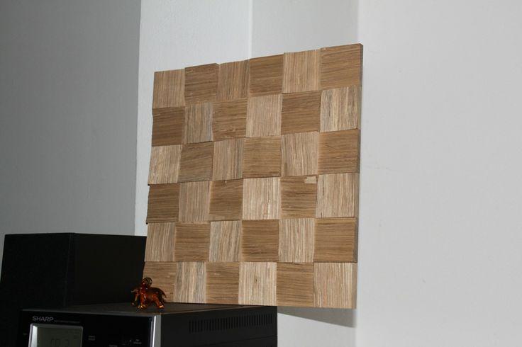 Dubová štípaná mozaika by AAC http://www.authenticartcraft.cz/