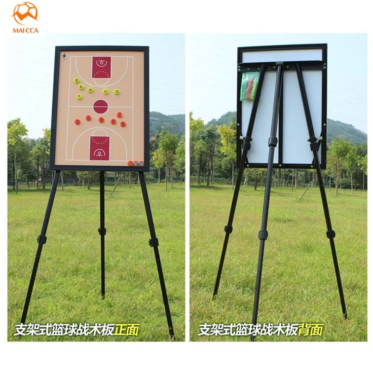 MAICCA Basketball coaching board magnetic Tactical Board with holder carry bag Professional Outdoor big Basketball coach plate #Affiliate