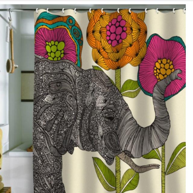 Shower Curtain To Brighten Up Your Bathroom Ilove Pinterest Curtain Ideas Bohemian Decor