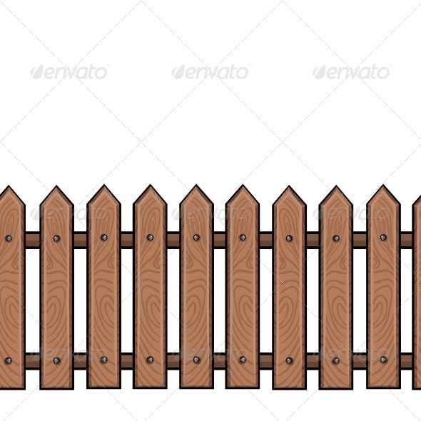 Best DONT FENCE ME IN Images On Pinterest Fence Clip Art - Cartoon fence clip art
