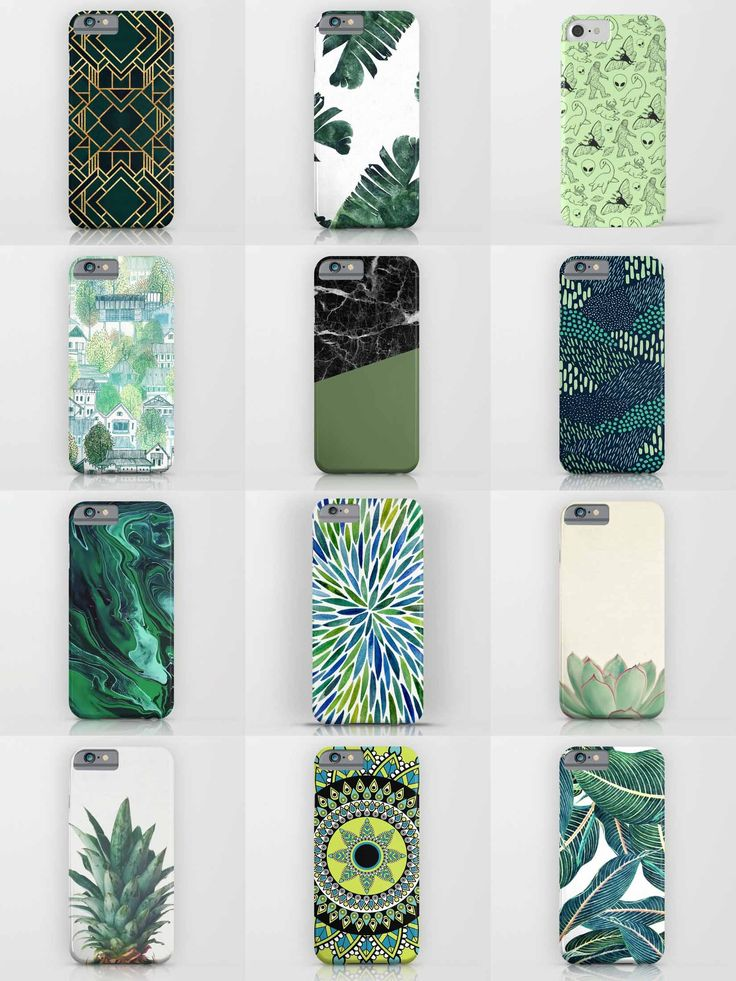 Society6 Green Phone Cases - Society6 is home to hundreds of thousands of artists from around the globe, uploading and selling their original works as 30+ premium consumer goods from Art Prints to Throw Blankets. They create, we produce and fulfill, and every purchase pays an artist.