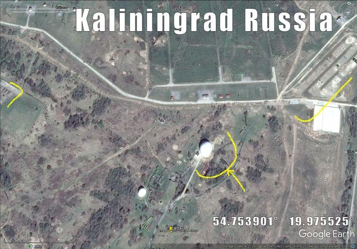 New radar/sat dish and other infra popped up at Lunino Kaliningrad.