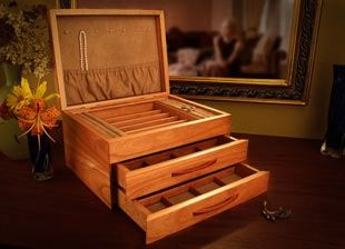 10 best handmade wooden jewelry boxes uk images on Pinterest