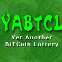 #YABTCL - The most complete and provably fair #Bitcoin #Lottery with the greatest jackpots and also a free lottery - @yabtcl