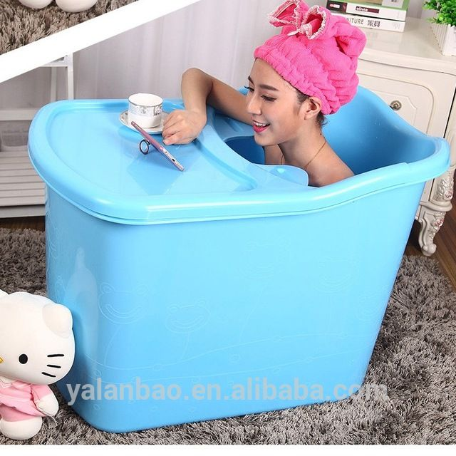 Source Mini Plastic Bath Tub Pp Portable Bathtub For Adult On M