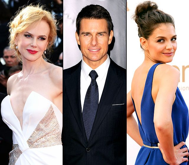Tom Cruise and his Ex's