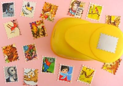 pons om zelf postzegels te maken