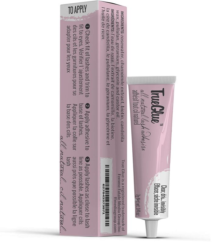 All Natural Lash Glue called True Glue Adhesive from Femme Fatale Lashes