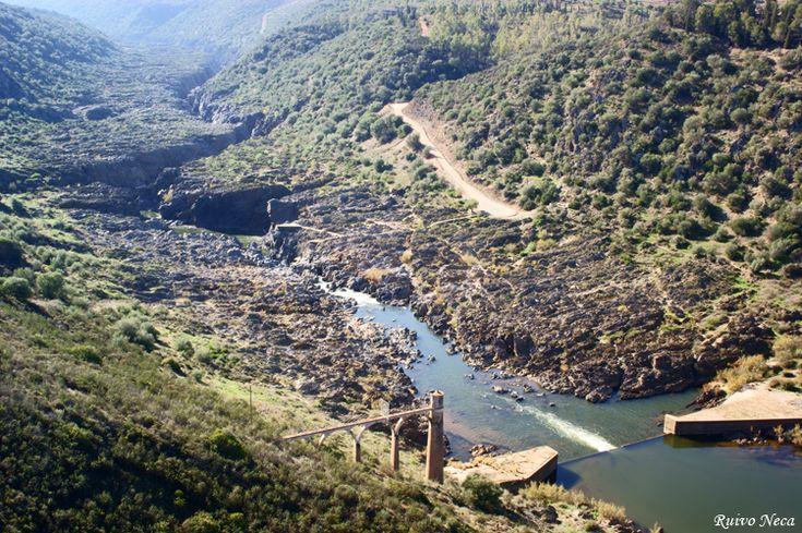 Paisagem Natural/Pulo do Lobo no Rio Guadiana
