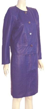 Evan Davies 80s Leather Suit