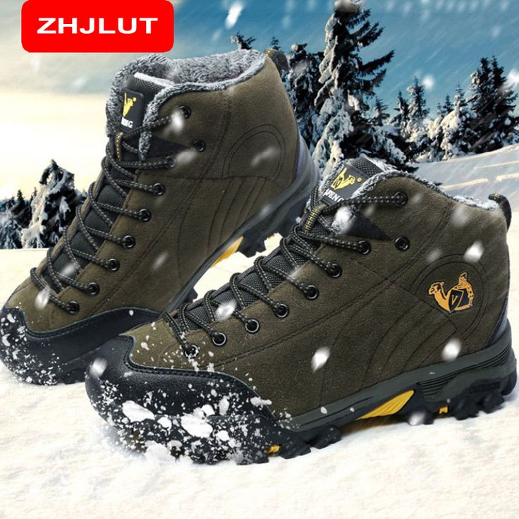 ZHJLUT High quality trade the original single men high help waterproof outdoor hiking boots shoes unisex trekking shoes 558