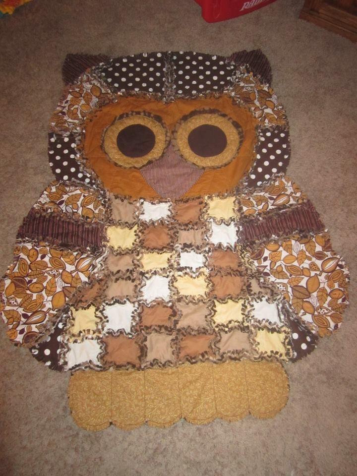 Amanda's Amazing Owl Quilt!