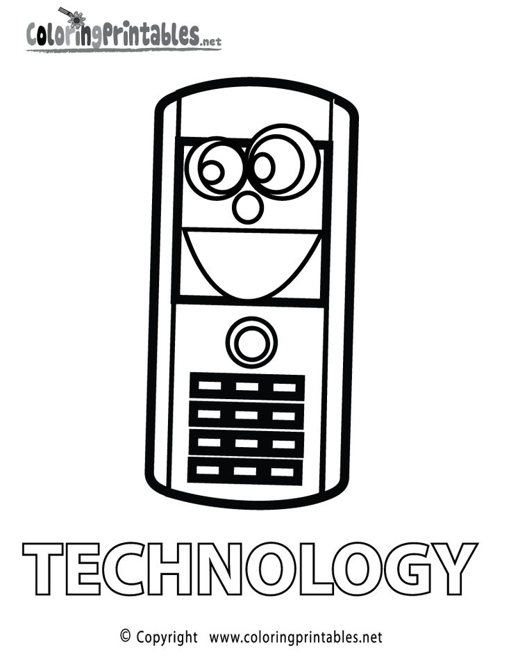 25+ Computer science coloring pages ideas