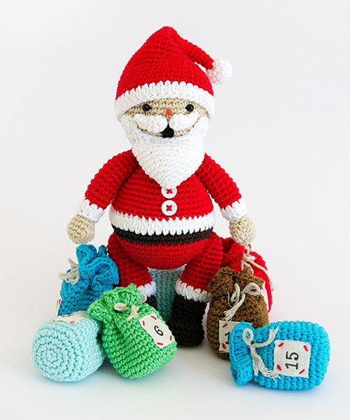 Amigurumi Winter Wonderland Free : 143 fantastiche immagini su Babbo Natale su Pinterest ...