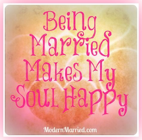Being married makes my soul happy. Click the pin for 5 powerful reasons to say I do.