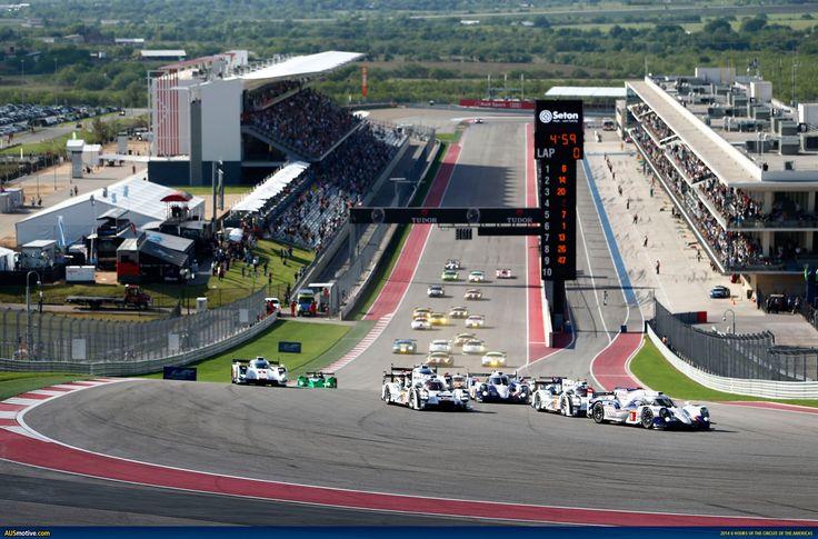 America's F1 track, located near Austin, Texas.