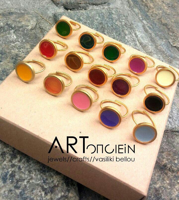 Prigkipw rings at ARTopoiein jewels