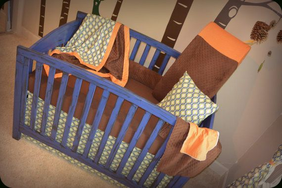 Wood Build Your Own Crib Bedding PDF Plans
