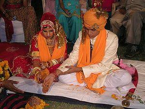 Mariage hindou dans l'Inde du Sud — Wikipédia