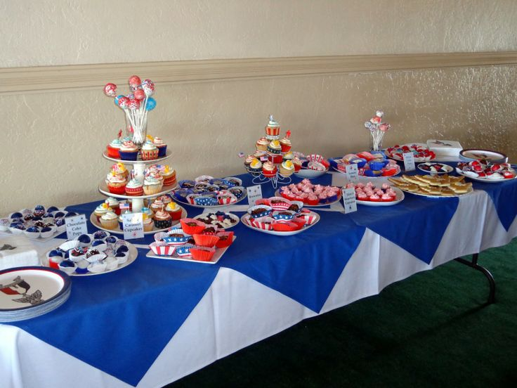 center pieces for eagle court of honor | For The Love Of Food: Eagle Scout Court of Honor