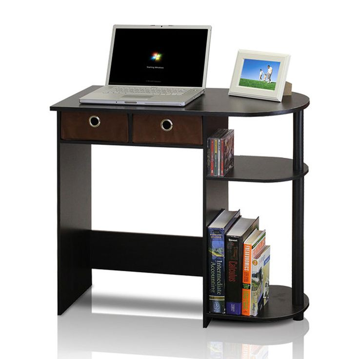 """NEW computrer desks Small Computer Desk Writing Laptop Table Drawers Espresso Black Home Workstation. Use for laptop and desktop. Simple stylish design yet functional and suitable for any room. Eco-friendly. Assembly Required. Drawer Interior: 4.25"""" H x 9.1"""" W x 15.55"""" D Desktop: 28.5"""" H x 31.5"""" W x 15.6"""" D Knee Space: 23"""" H x 18.75"""" W x 15.6"""" D."""