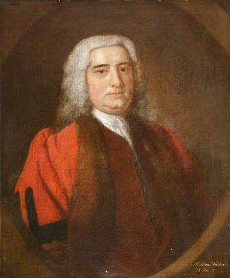 Alexander Webber, Mayor of Barnstaple (1737) by Thomas Hudson (studio of) Oil on canvas, 75 x 62 cm Collection: Barnstaple Town Council